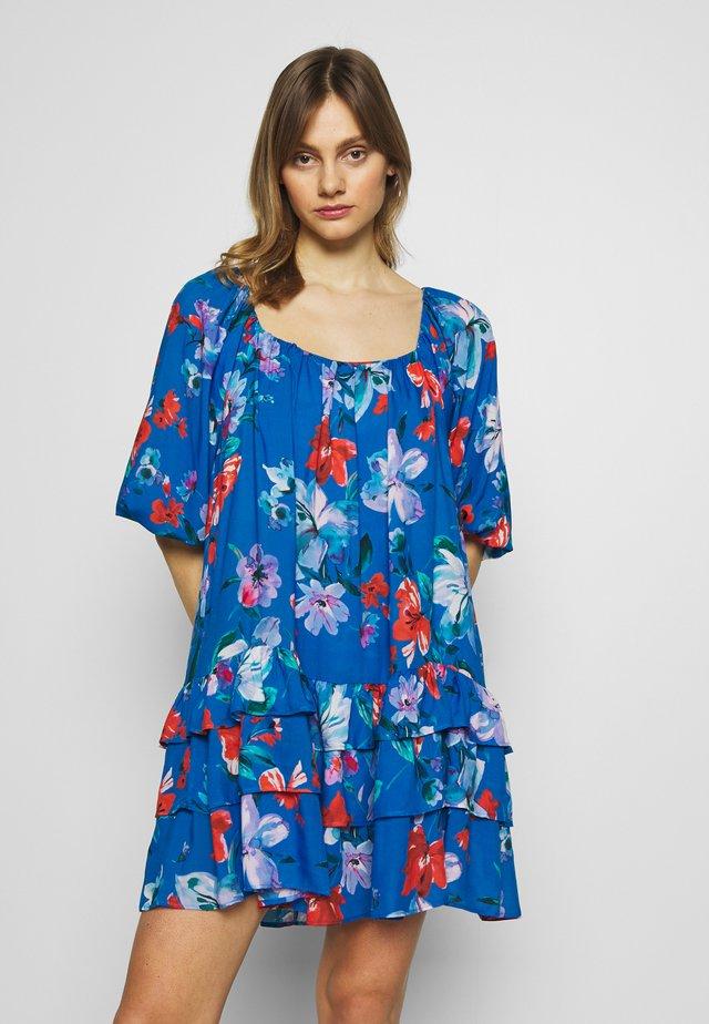 Sukienka letnia - blue/multicolor