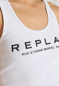 Replay - Top - optical white - 5