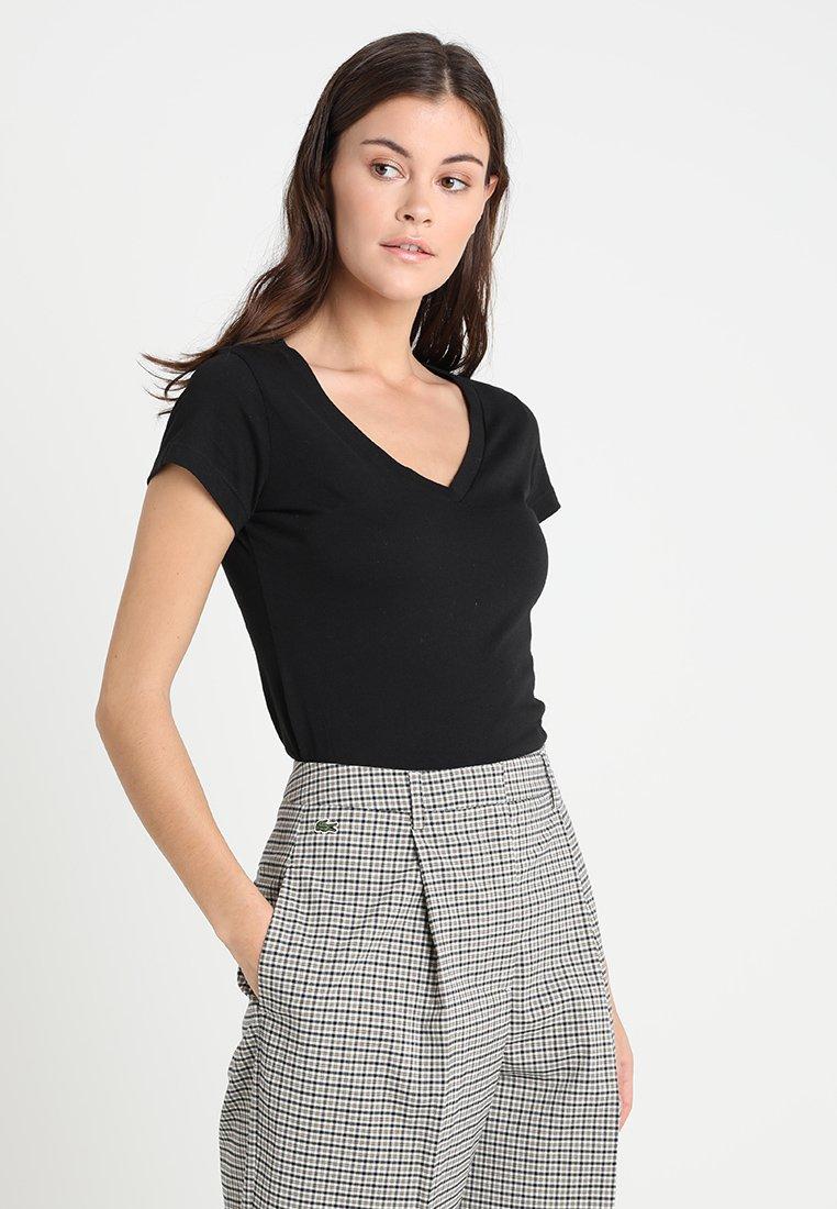 Replay - 2 PACK - T-Shirt basic - black/black