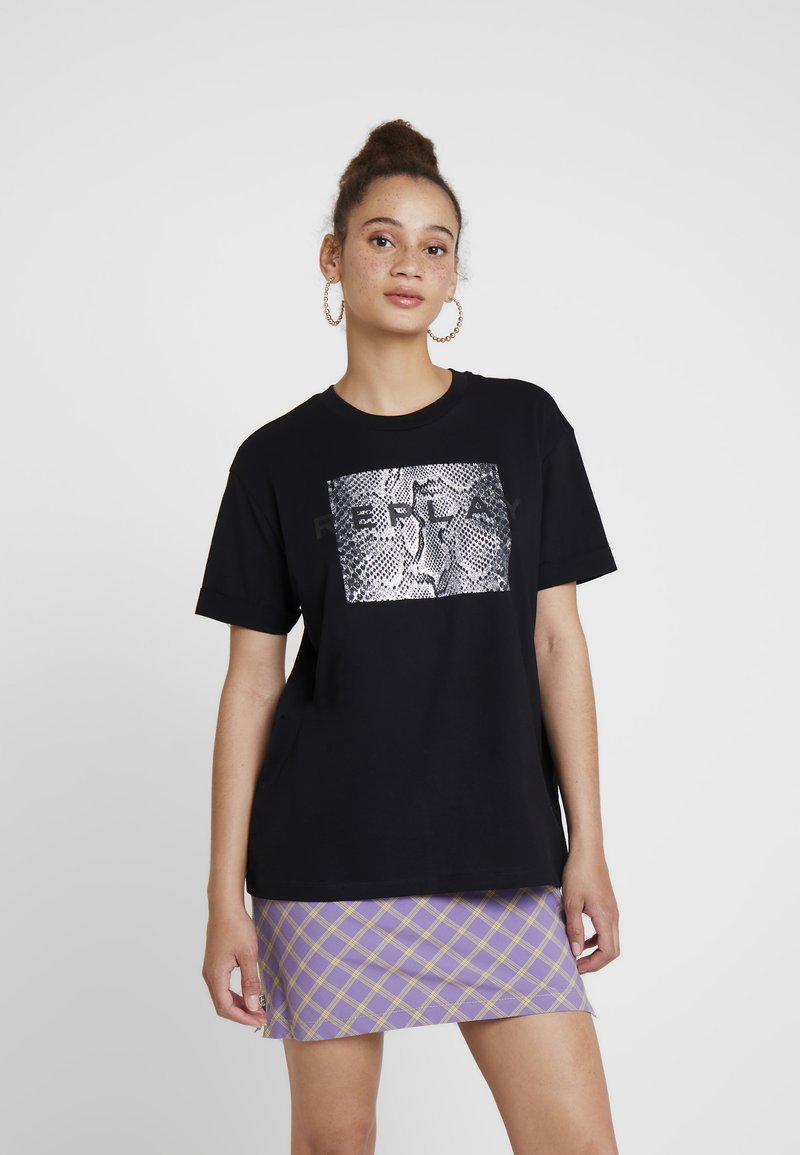 Replay - T-Shirt print - blackboard