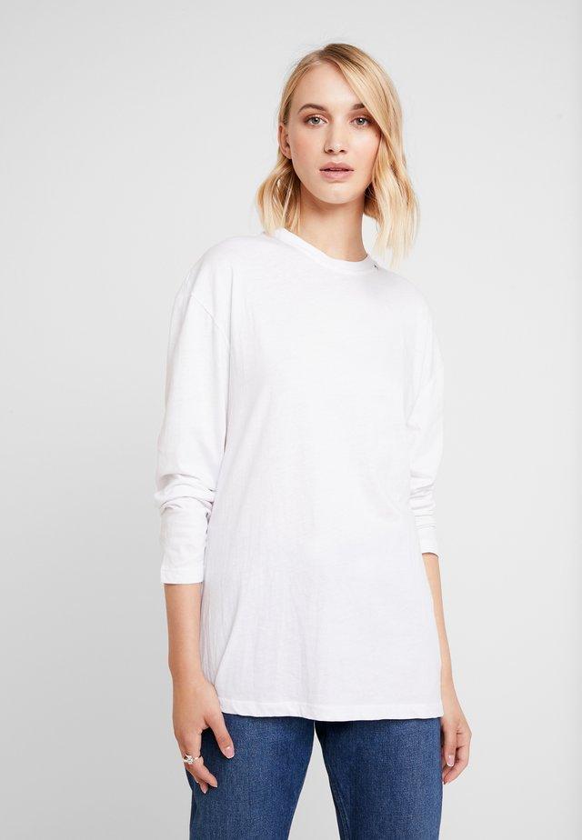 Pitkähihainen paita - optical white