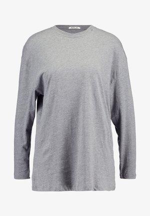 Langarmshirt - medium grey melange