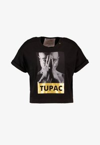 Replay - 2 PAC TEE - Print T-shirt - black - 5