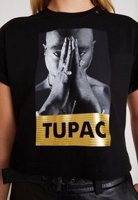 Replay - 2 PAC TEE - Print T-shirt - black - 6