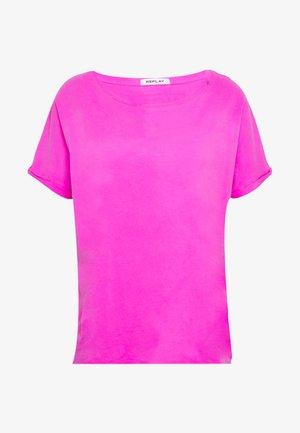 T-shirt z nadrukiem - fuchsia