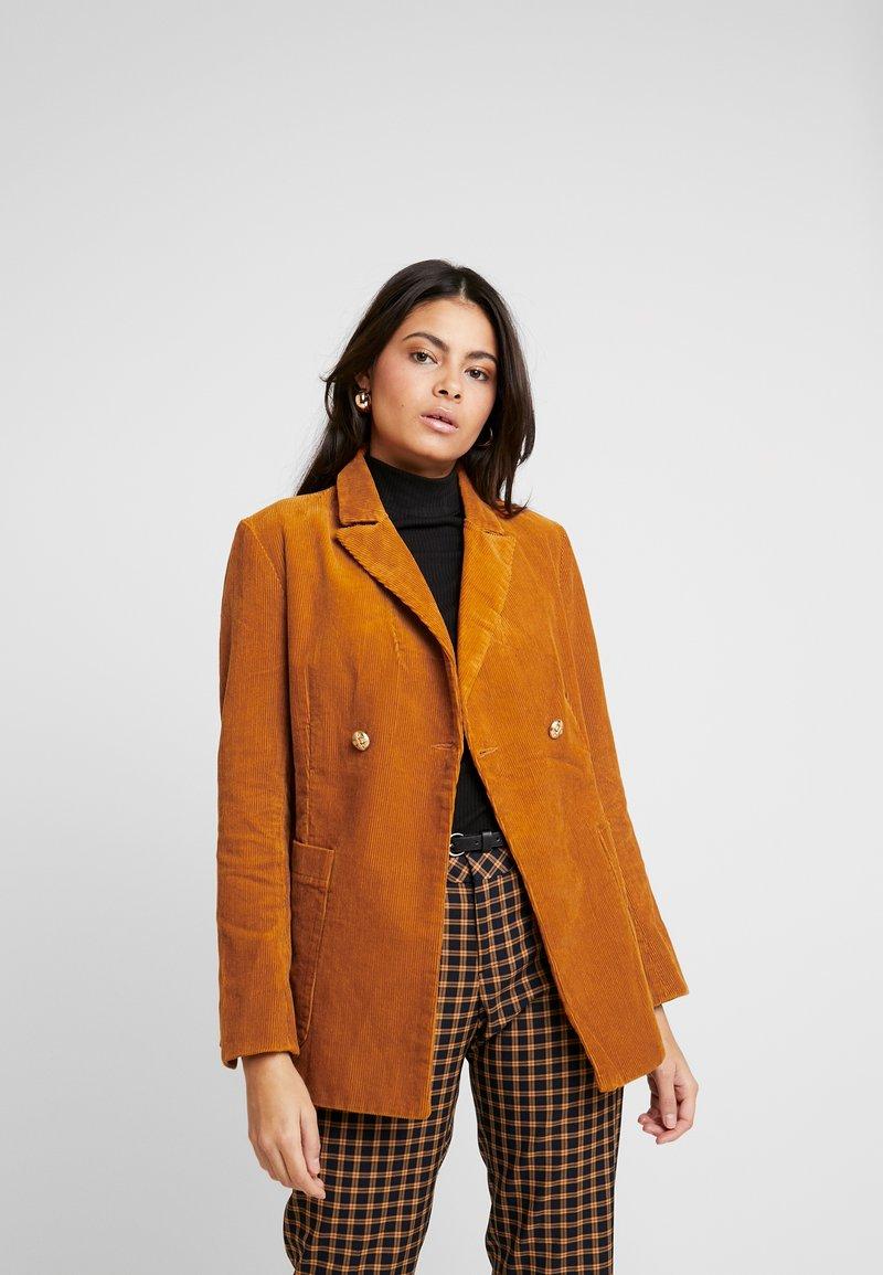 Replay - JACKET - Pitkä takki - amber