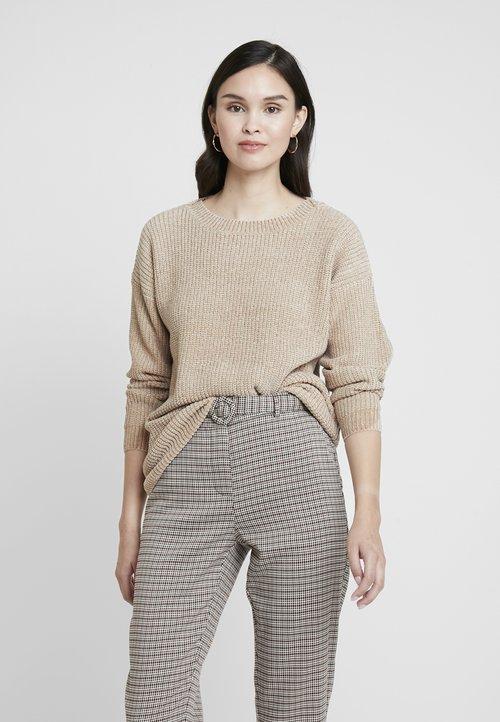 Replay Sweter - light beige Odzież Damska JEZT-MF4 wylot