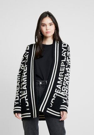 Cardigan - black/white
