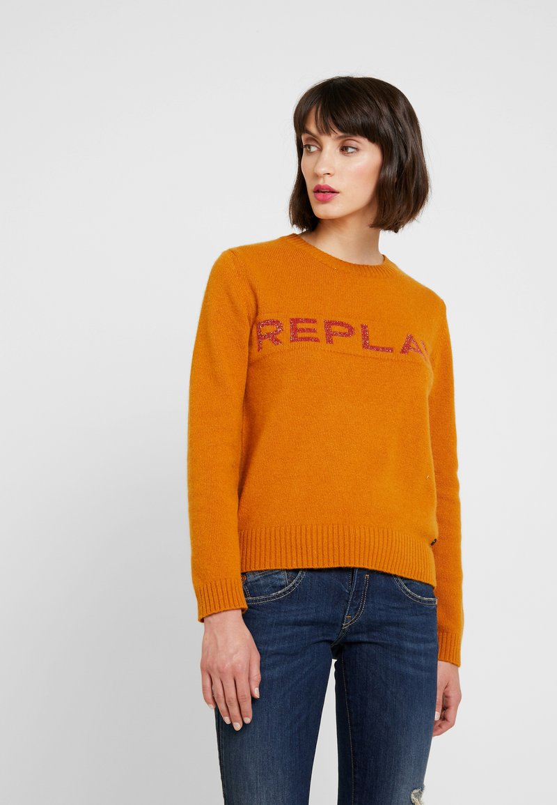 Replay - Strickpullover - amber