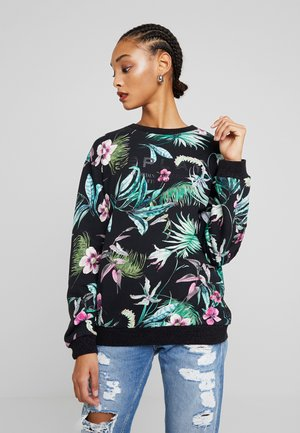 Sweatshirt - floralprint