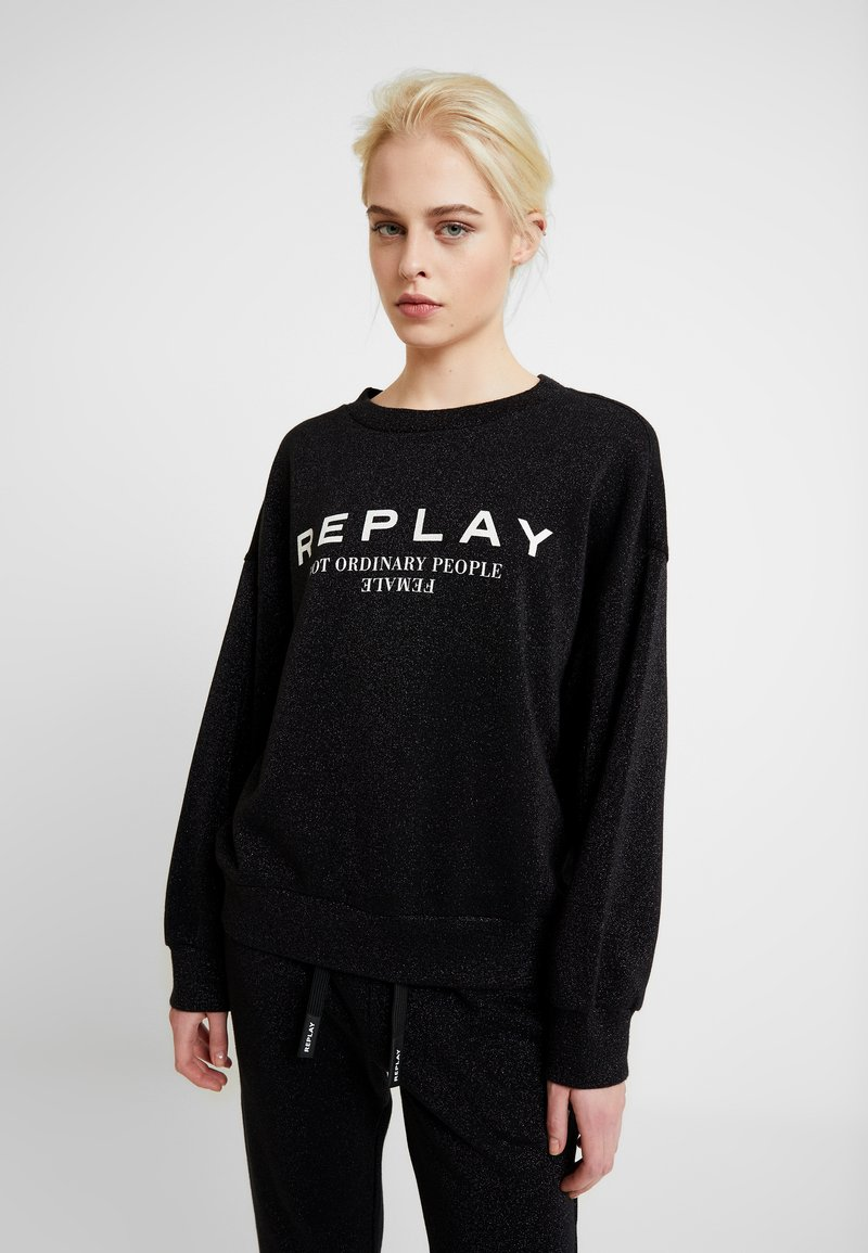Replay - Sweatshirt - black