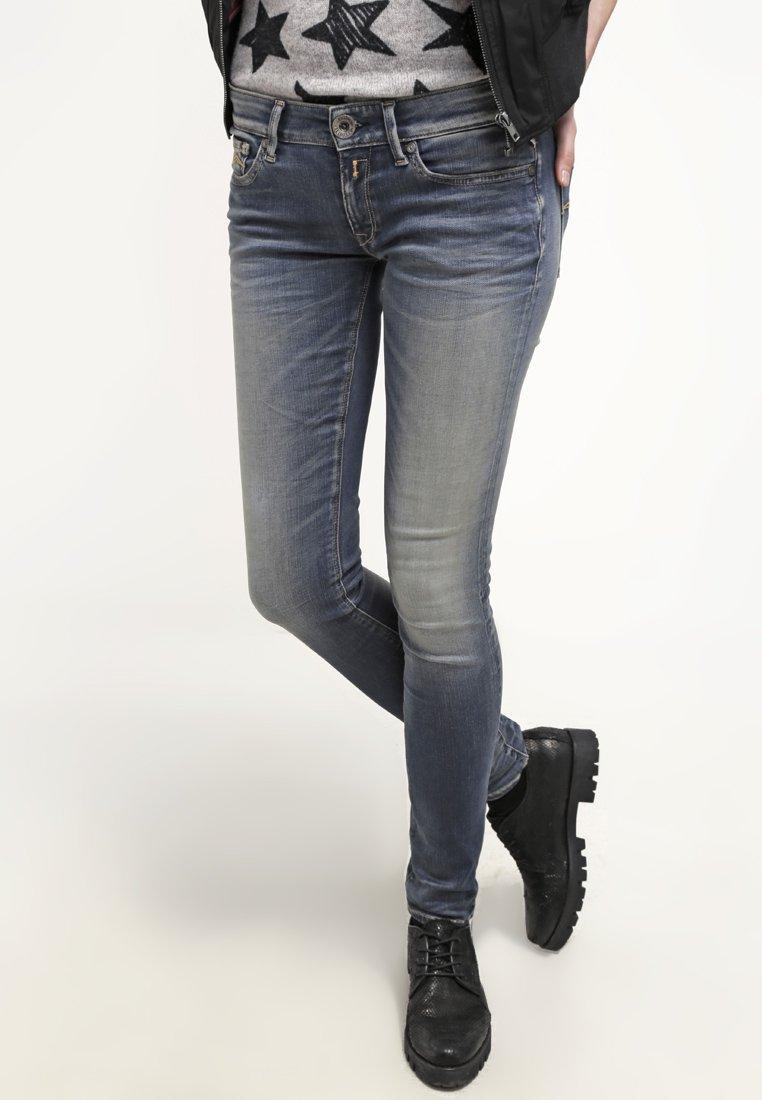 Replay HYPERFLEX LUZ - Jeansy Skinny Fit - stone blue