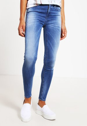HYPERFLEX LUZ  - Jeansy Skinny Fit - mid blue