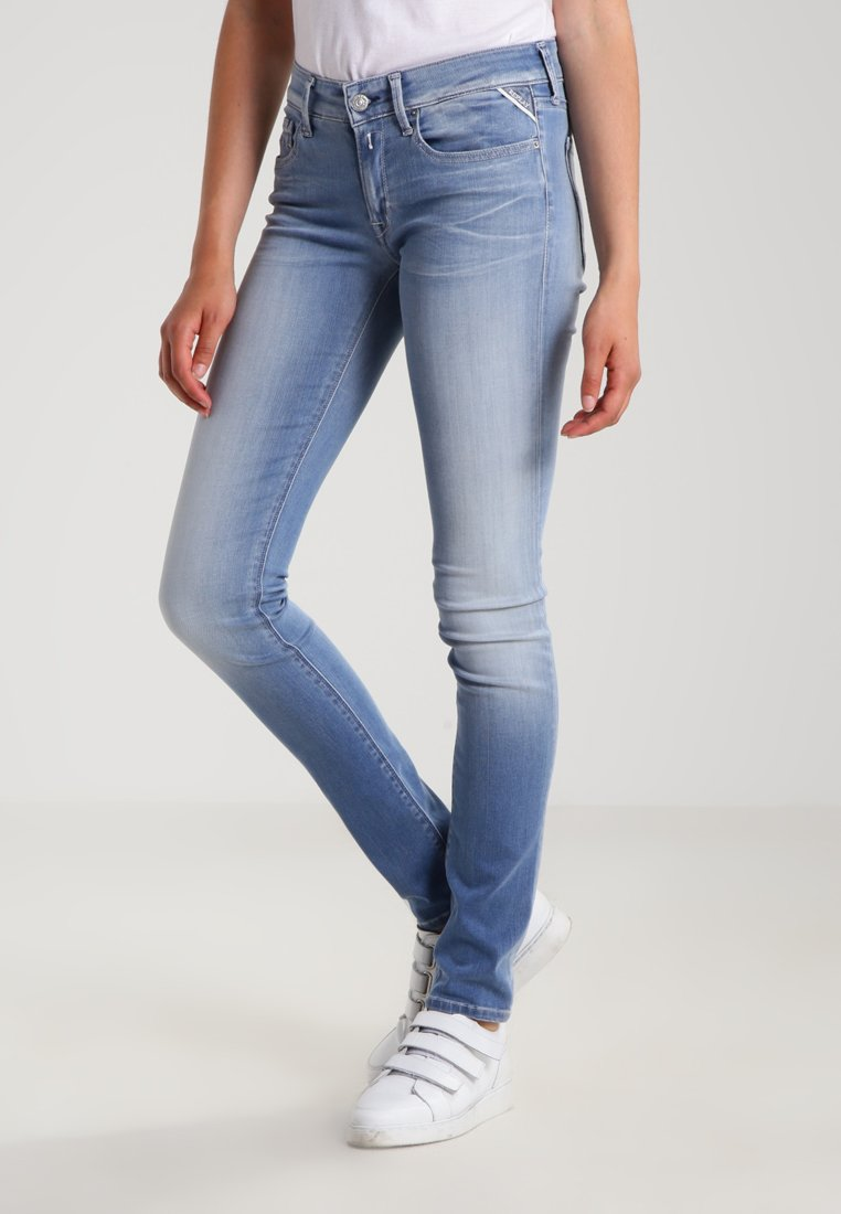 Replay - HYPERFLEX LUZ - Jeans Skinny Fit - light blue