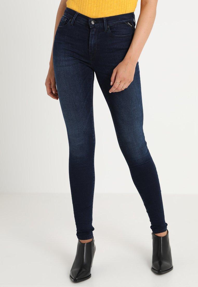 Replay - JOI PANTS - Jeans Skinny Fit - dark blue denim