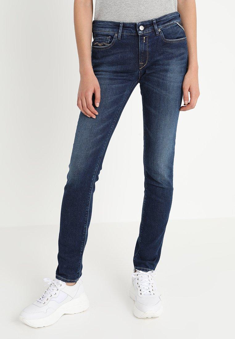 Replay - LUZ HYPERFLEX  - Jeans Skinny Fit - dark blue denim
