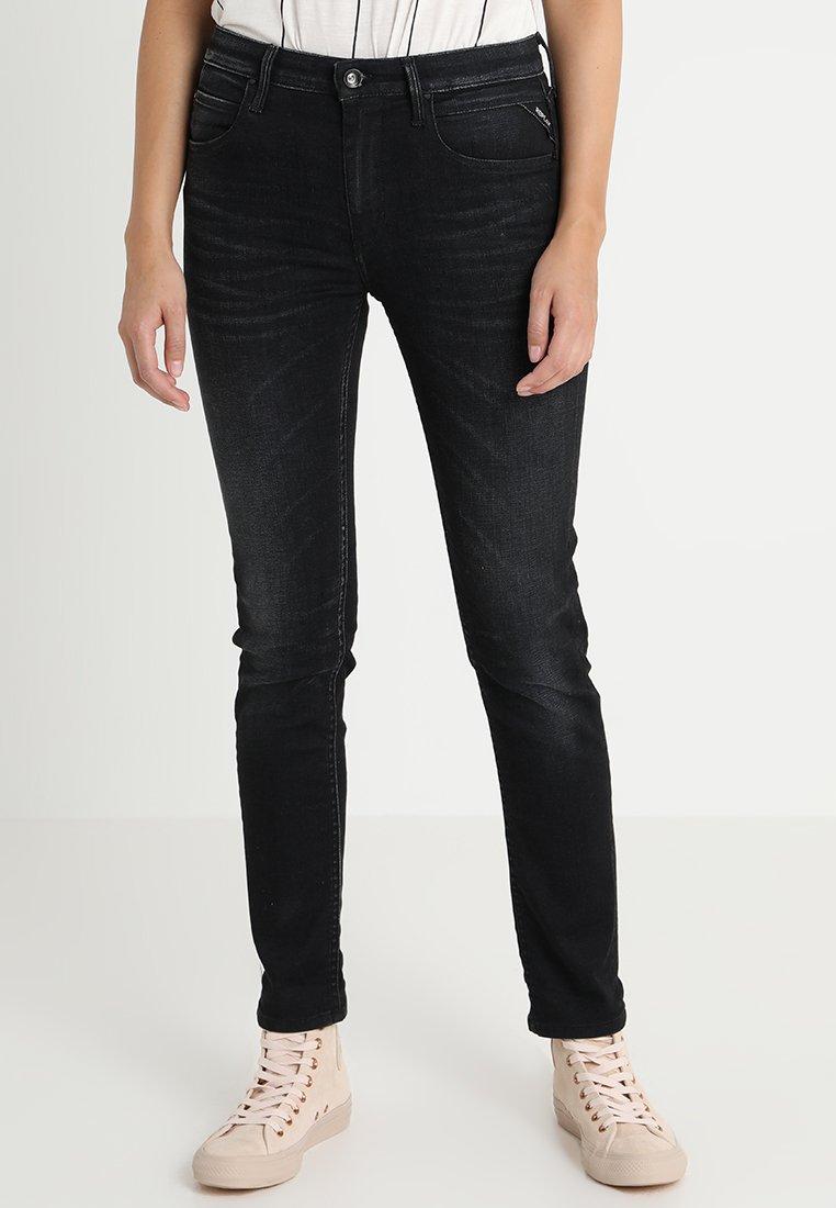Replay - JACKSY PANTS - Jeans Straight Leg - blue black denim