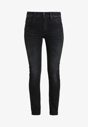JACKSY PANTS - Jeansy Straight Leg - blue black denim
