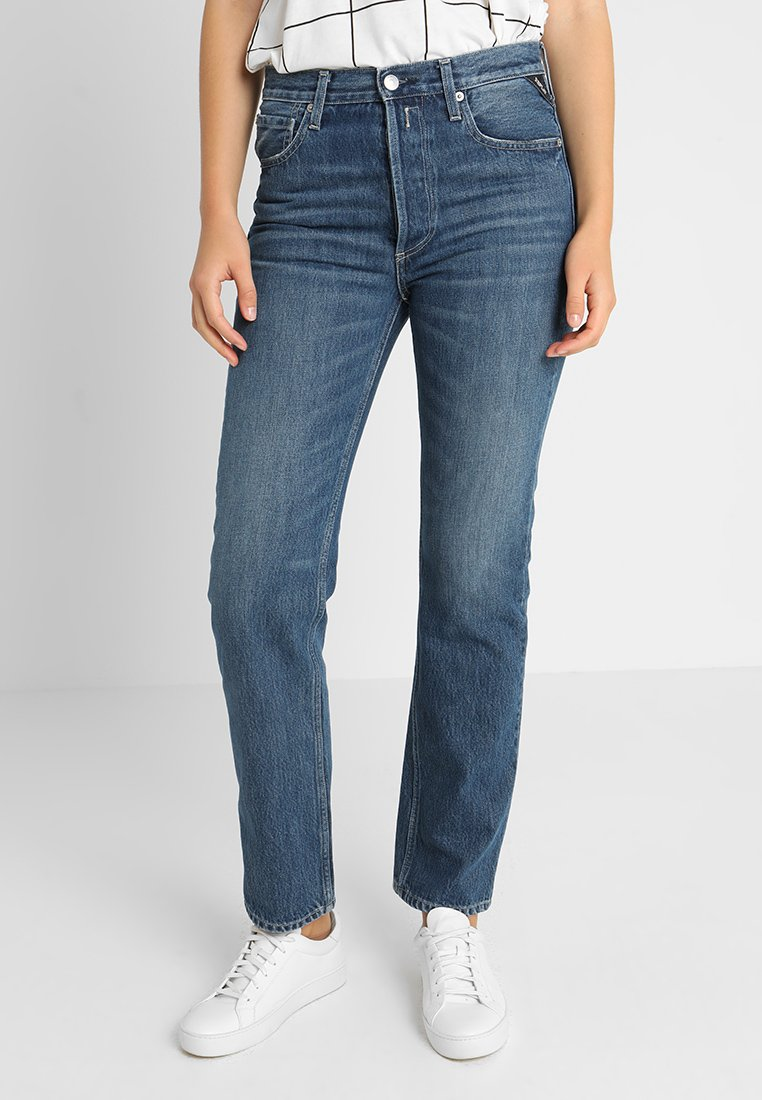 Replay - ALEXYS PANTS - Jeans baggy - blue denim