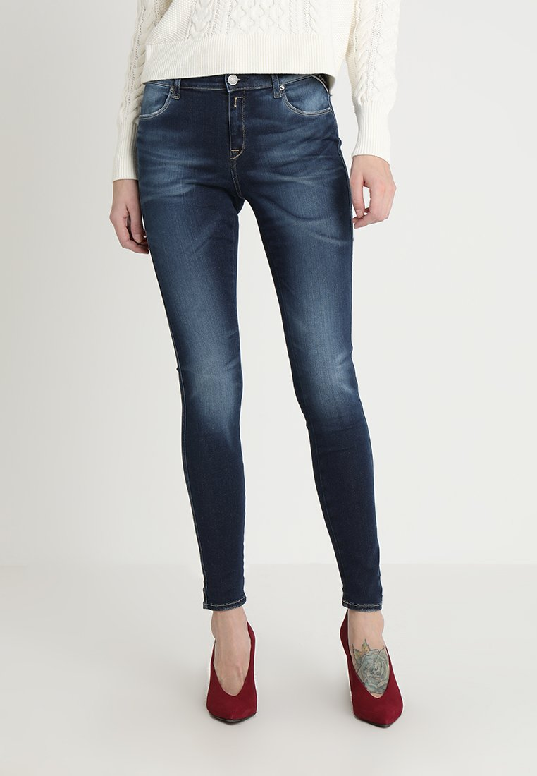 Replay - STELLA - Jeans Skinny Fit - blue denim