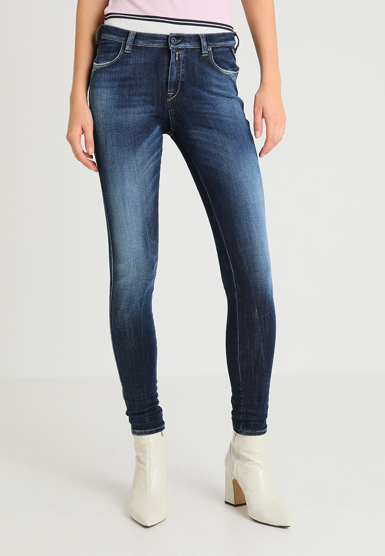 Replay - STELLA HYPERFLEX  - Skinny-Farkut - dark blue