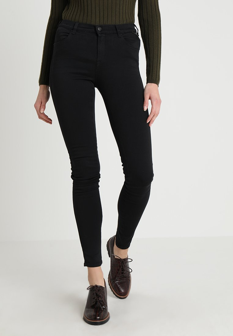 Replay - STELLA HYPERFLEX  - Jeans Skinny Fit - black
