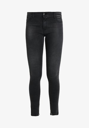 STELLA ANKLE ZIP - Jeans Skinny Fit - black