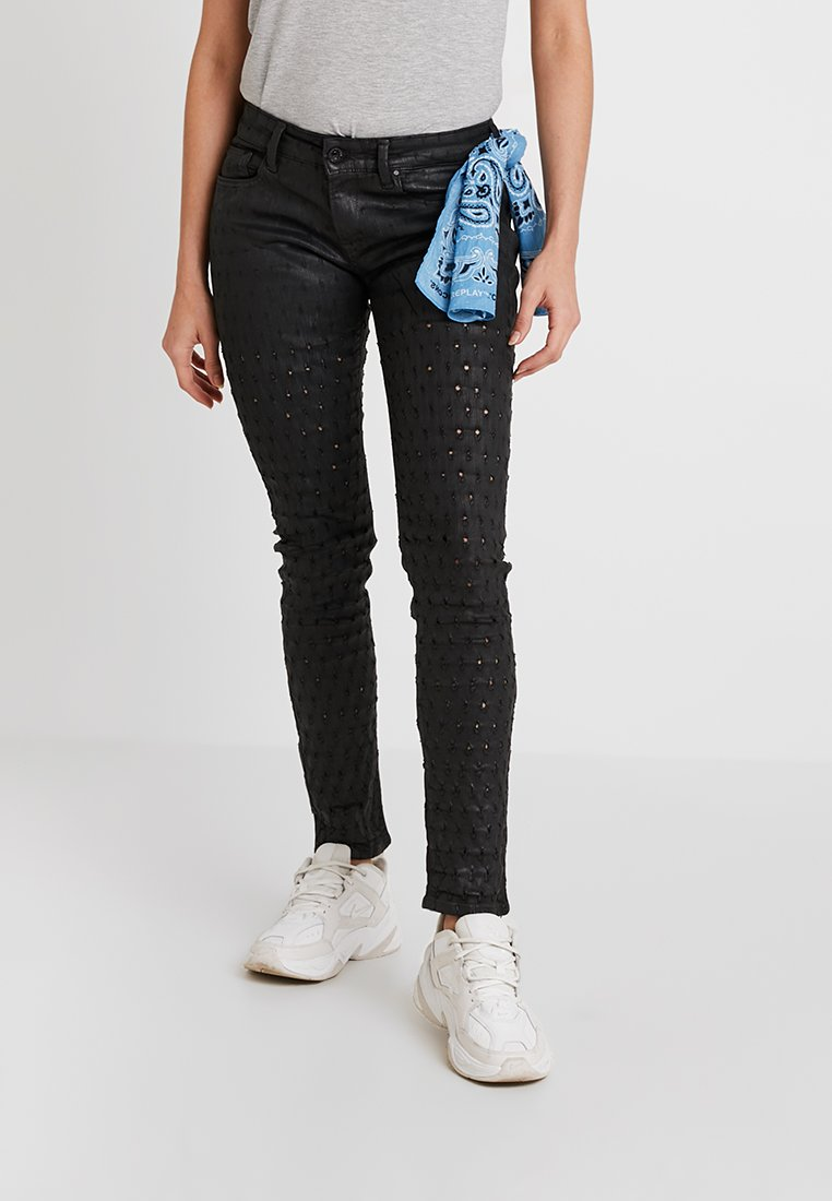 Replay - LUZ - Jeans Skinny Fit - black