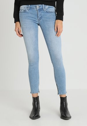 LUZ ANKLE ZIP - Jeans Skinny Fit - light blue