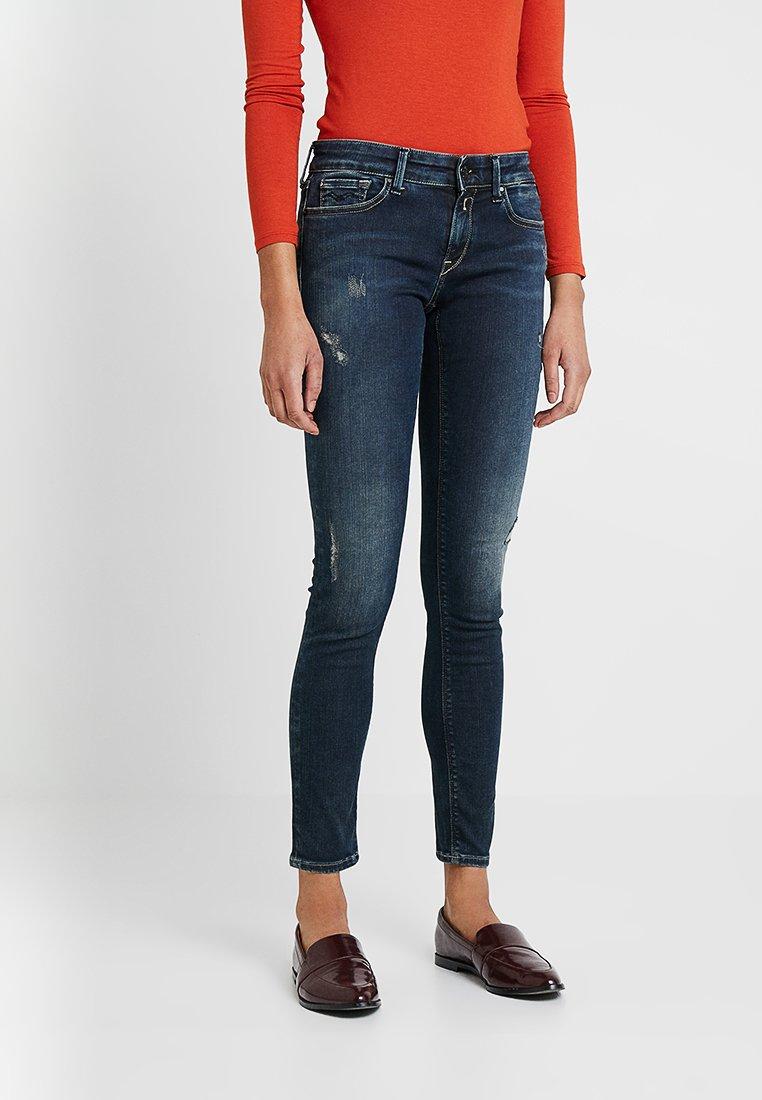 Replay - HYPERFLEX LUZ PANTS - Jeans Skinny Fit - dark blue