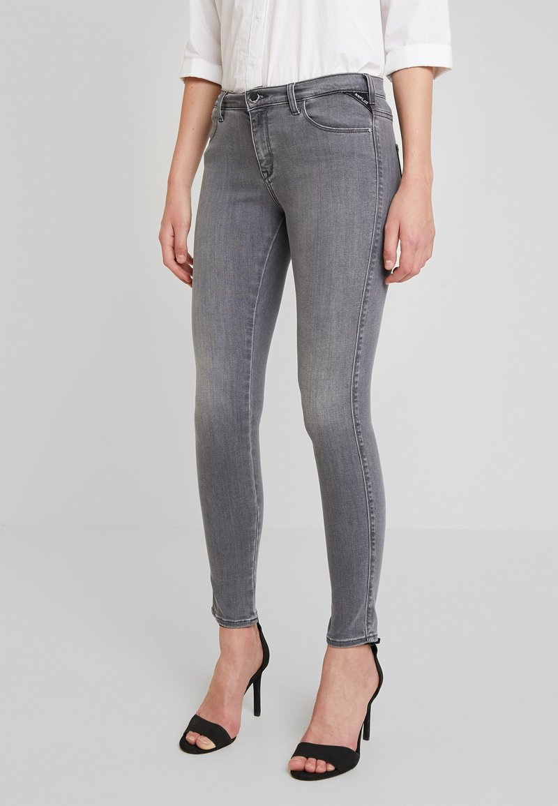 Replay - STELLA - Jeans Skinny Fit - medium grey