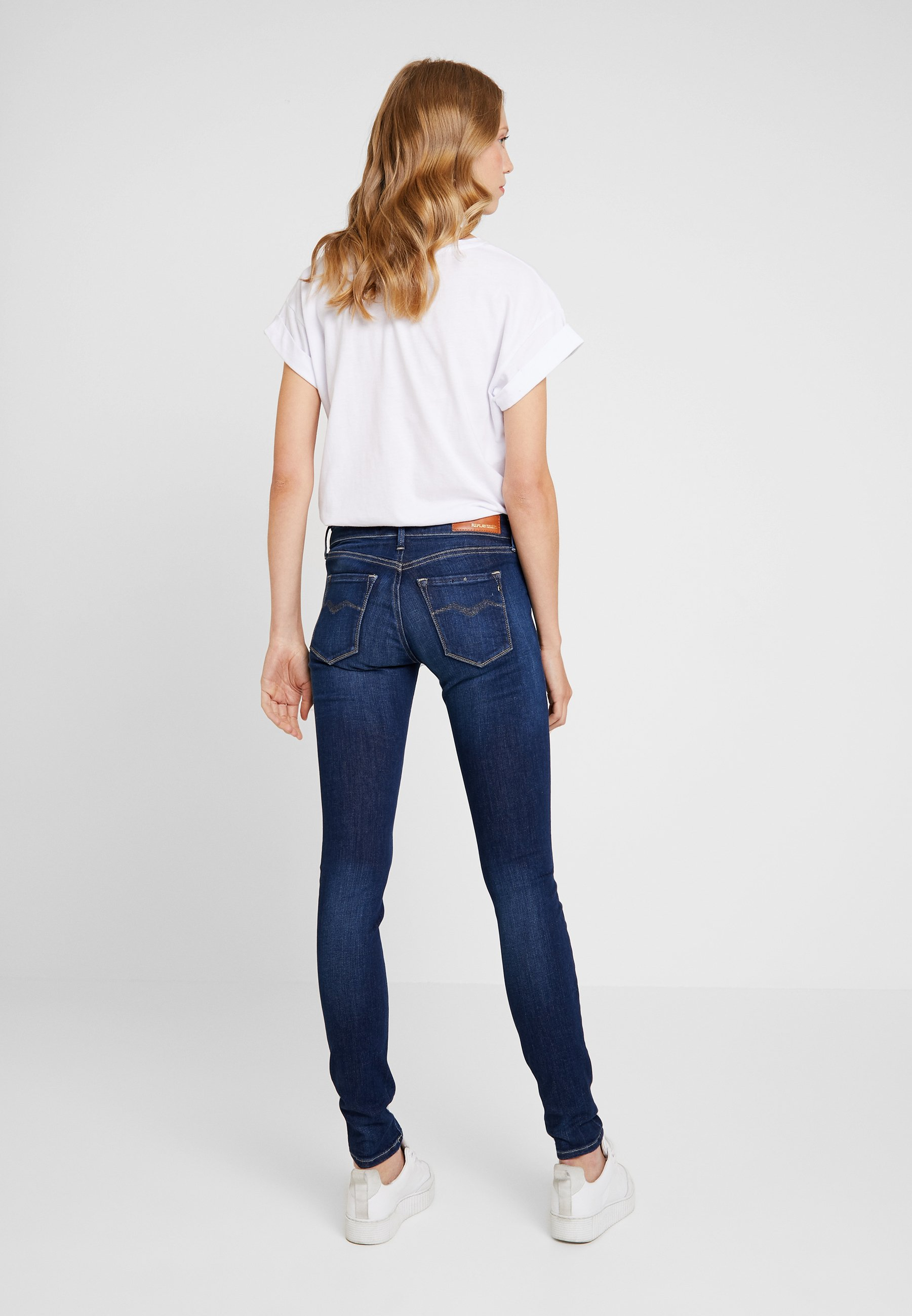 Replay LUZ - Jeans Skinny Fit dark blue