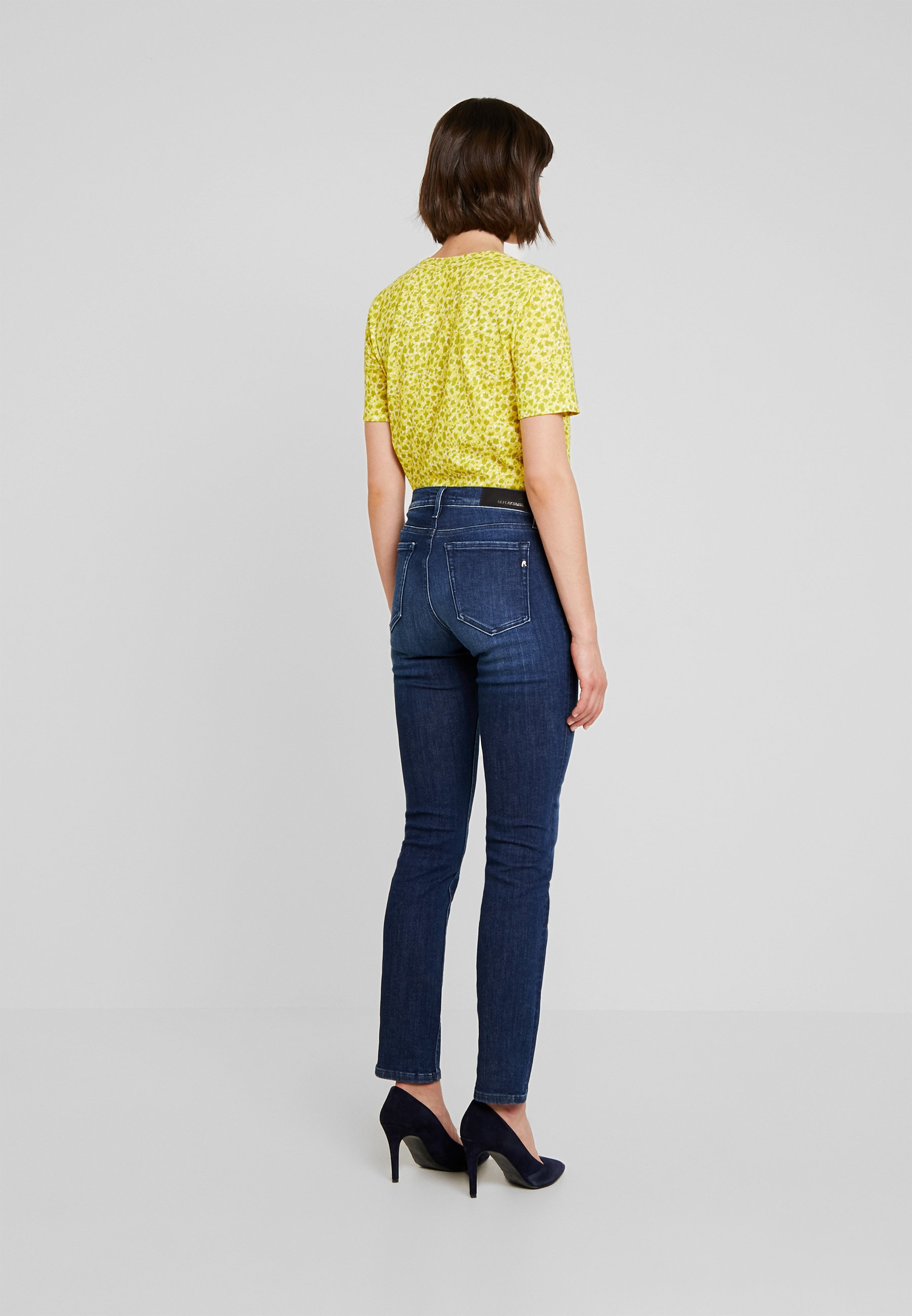 Replay VIVY - Jeans a sigaretta dark blue