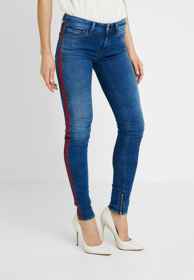 Replay - LUZ ANKLE ZIP - Jeans Skinny Fit - medium blue