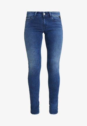 LUZ ANKLE ZIP - Jeansy Skinny Fit - medium blue