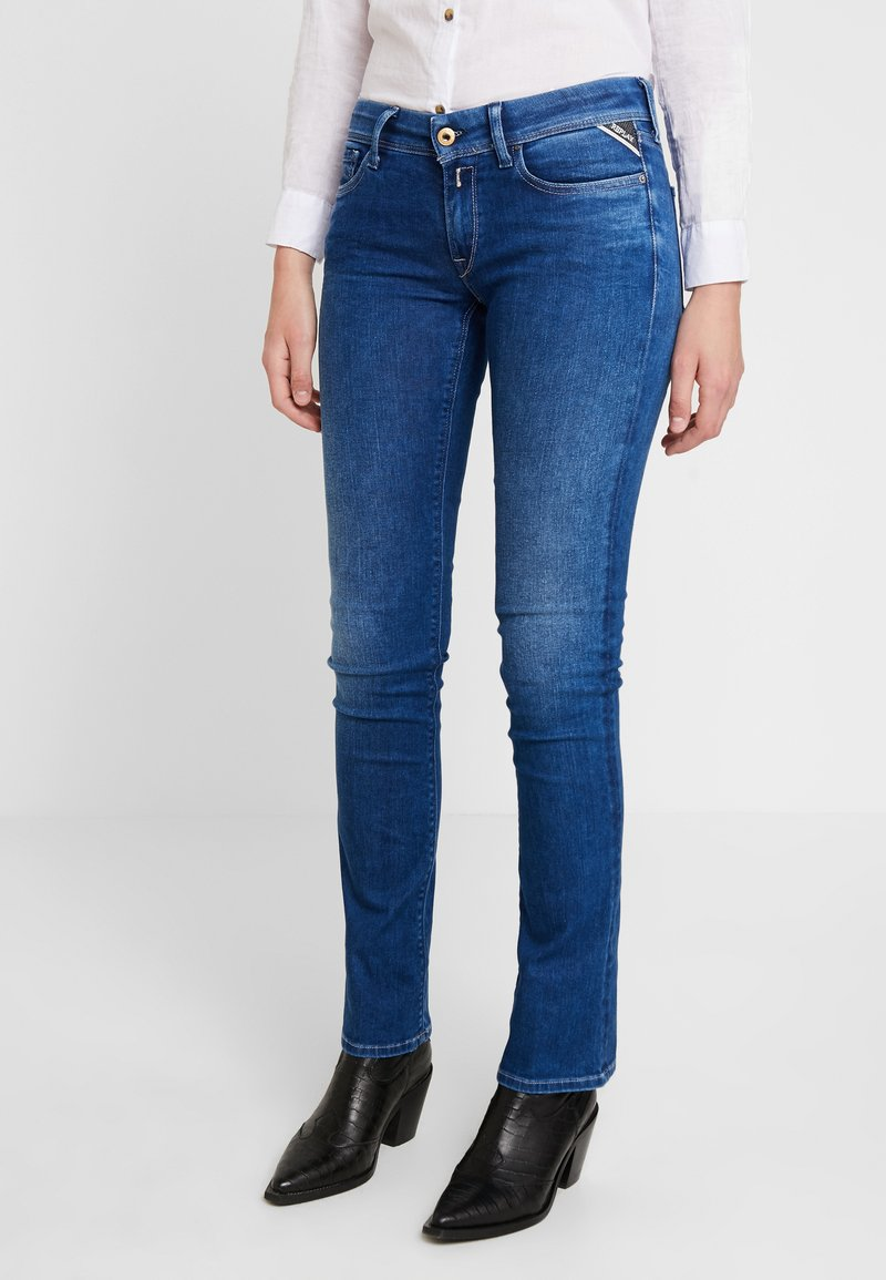 Replay - LUZ - Bootcut jeans - medium blue