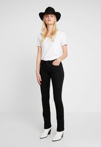 Replay - LUZ - Bootcut jeans - black - 1