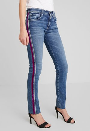 HETER PANTS - Slim fit -farkut - medium blue