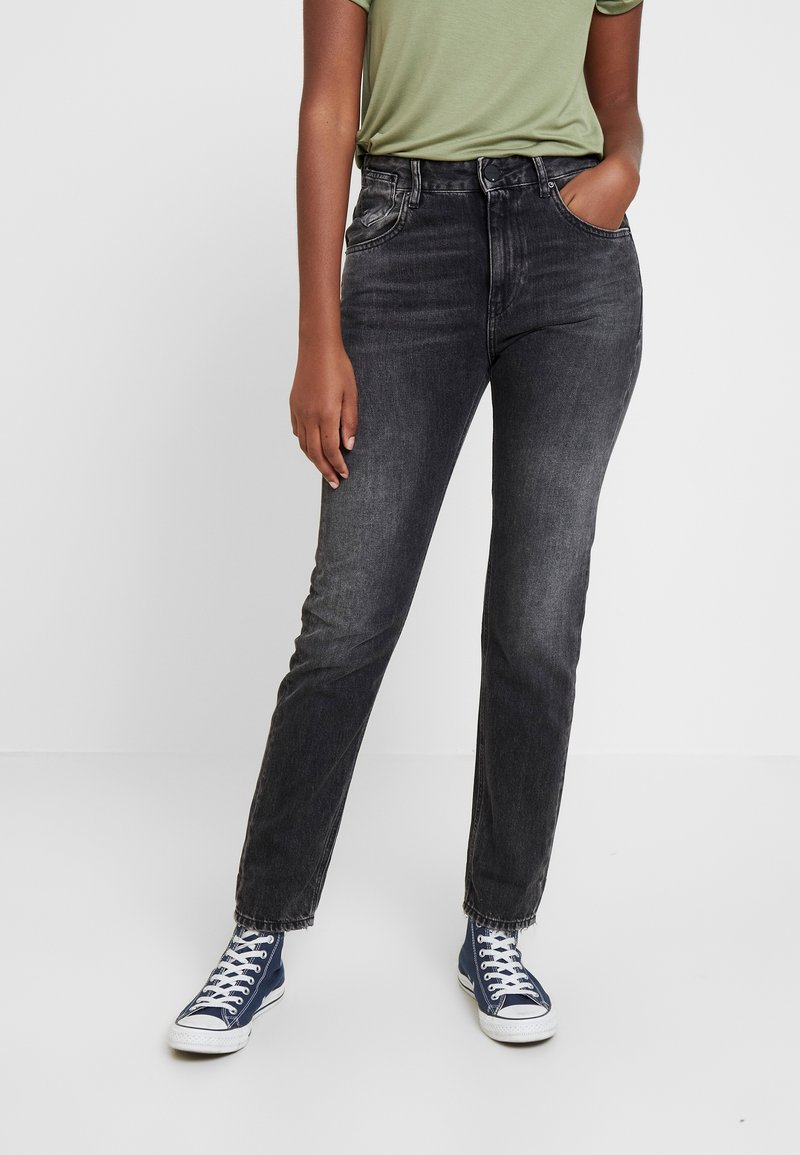Replay - MARTY - Jeansy Relaxed Fit - dark grey