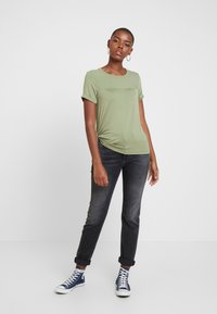 Replay - MARTY - Jeansy Relaxed Fit - dark grey - 1