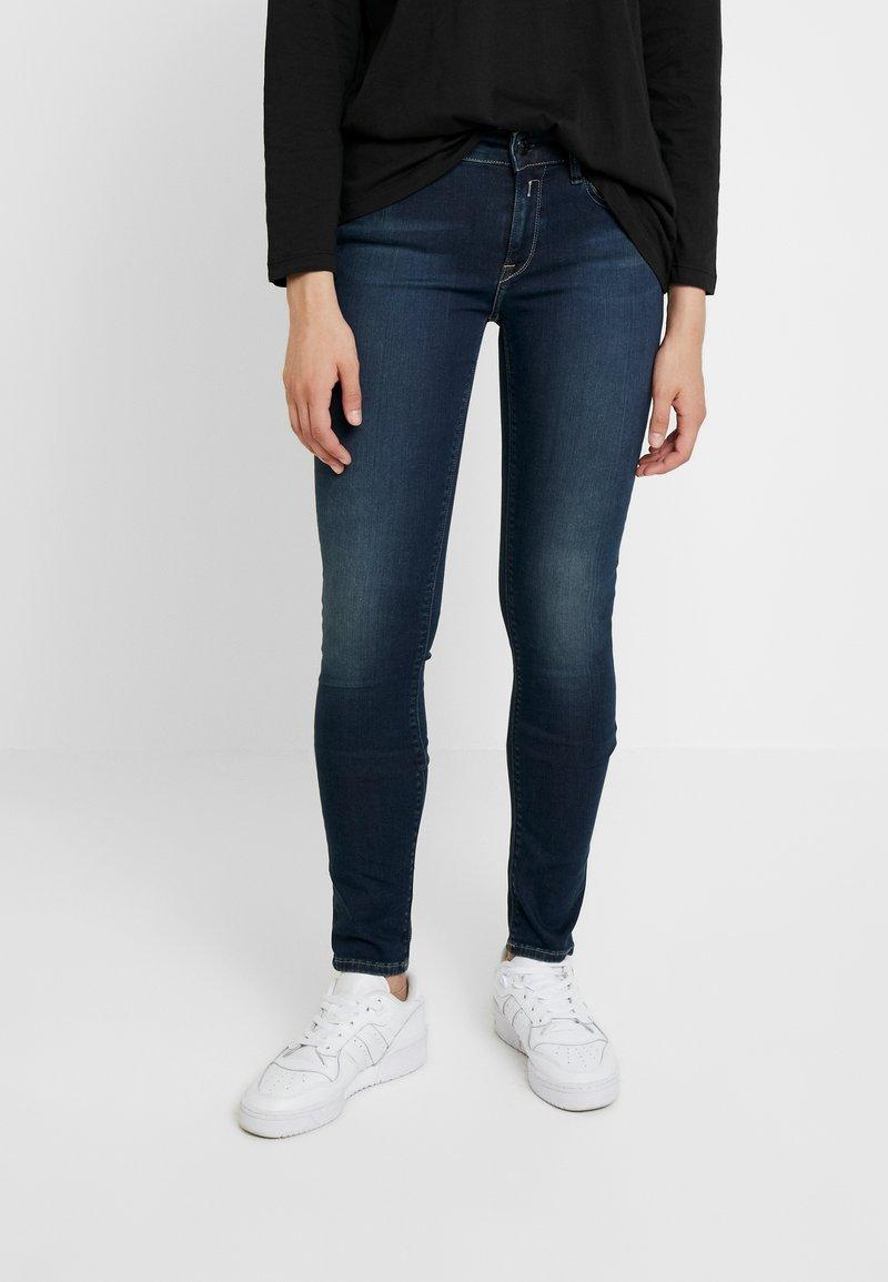 Replay - NEW LUZ HYPERFLEX + - Jeans Skinny Fit - dark blue
