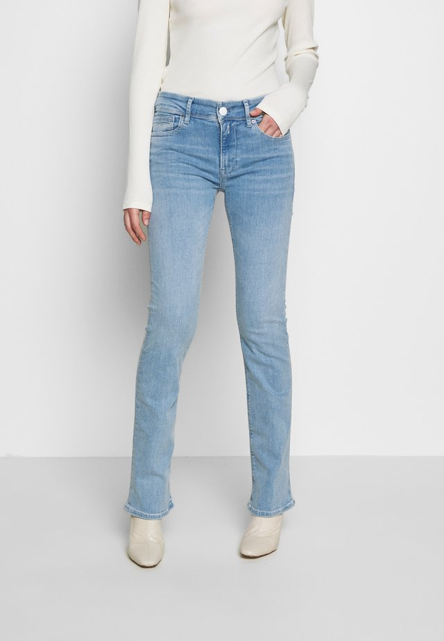 LUZ BOOTCUT - Jeans Bootcut - superlightblue