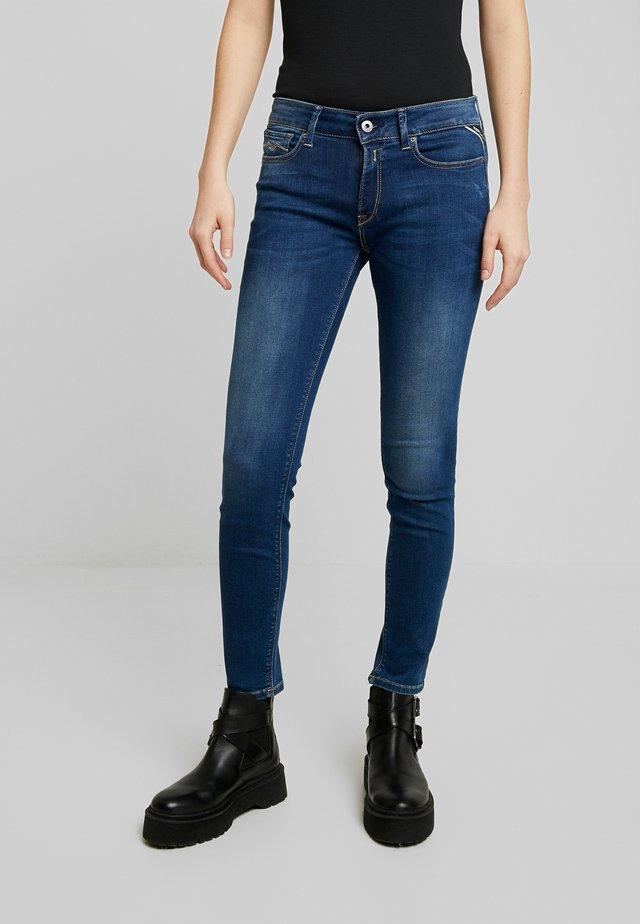 NEWLUZ - Jeans Skinny Fit - dark blue