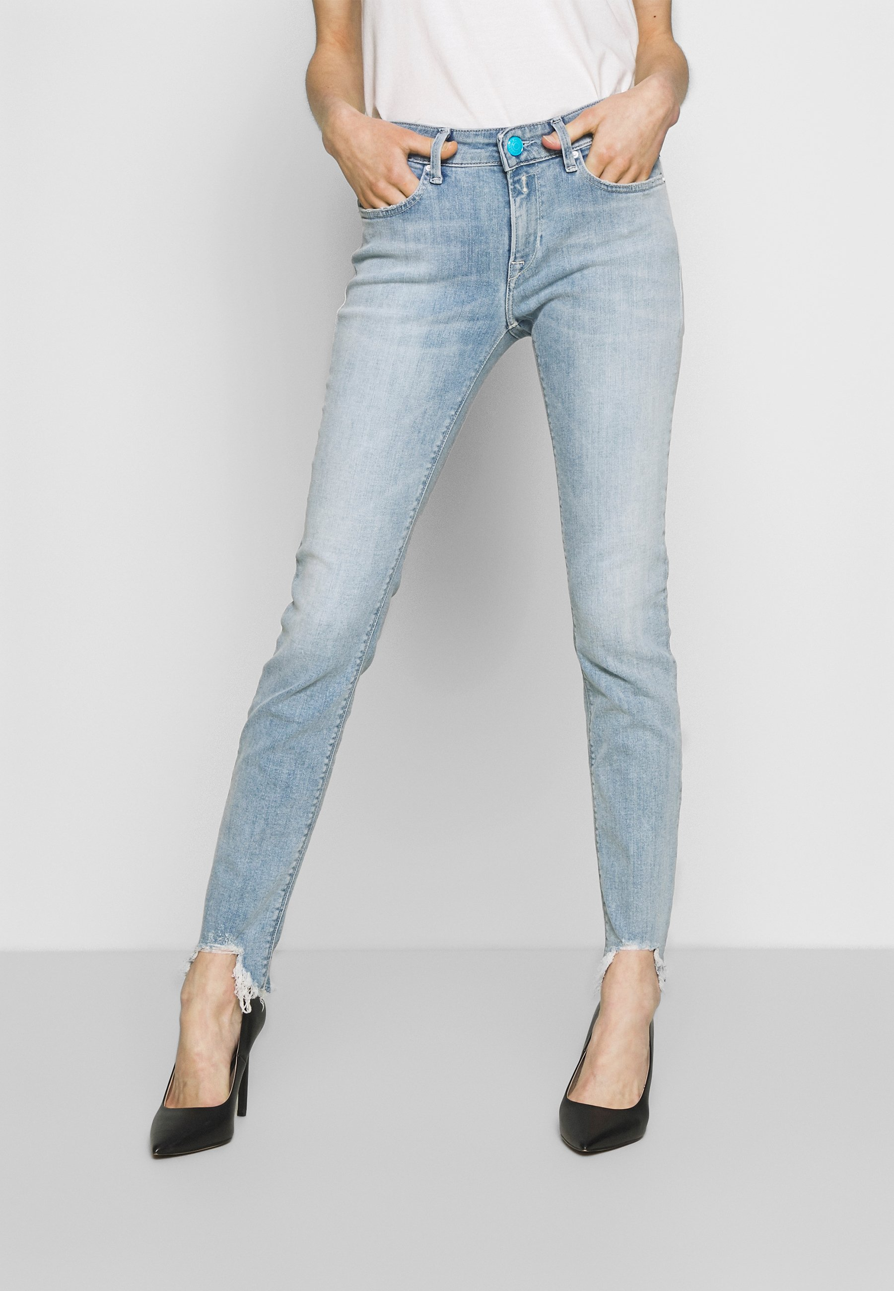 Replay NEWLUZ - Jeans Skinny Fit - superlightblue