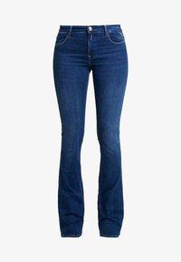 Replay - STELLA FLARE - Flared Jeans - mediumblue - 4