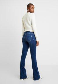 Replay - STELLA FLARE - Flared Jeans - mediumblue - 2