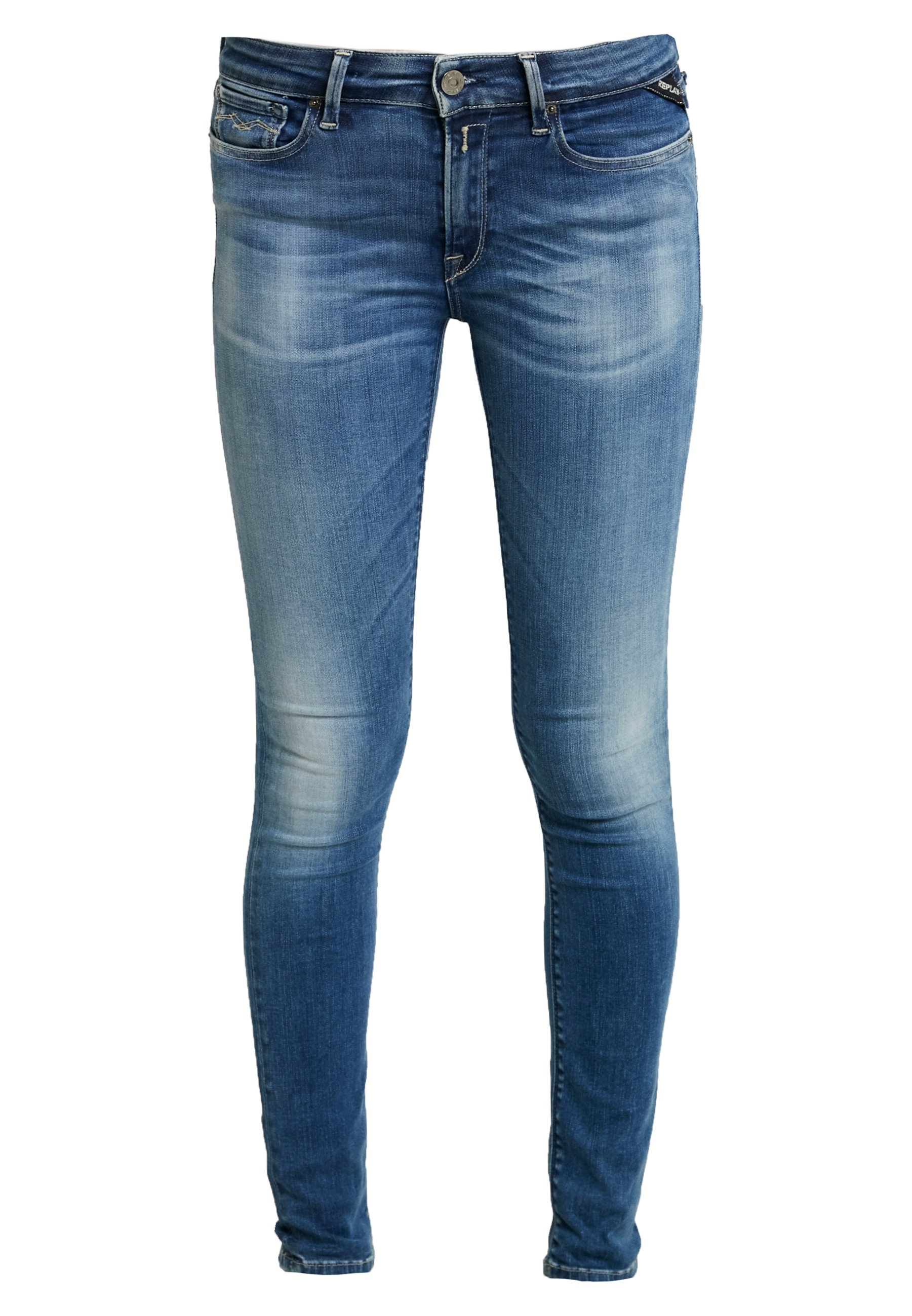 Replay Newluz Hyperflex - Jeans Skinny Fit Mediumblue 8JTit8B