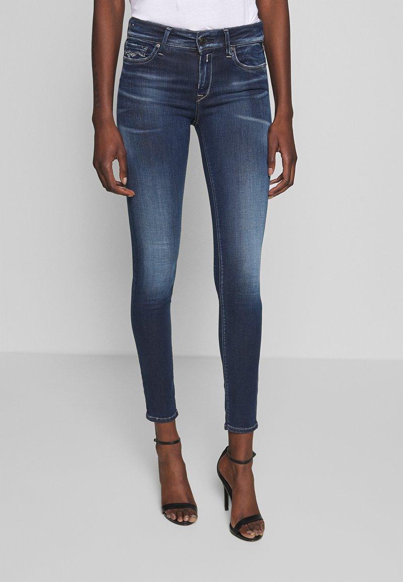 Replay - NEWLUZ HYPERFLEX BIO - Jeans Skinny Fit - dark blue