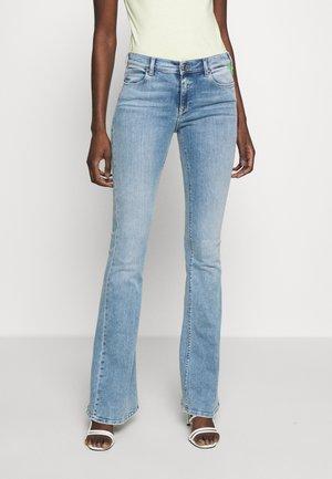 STELLA - Flared Jeans - lightblue