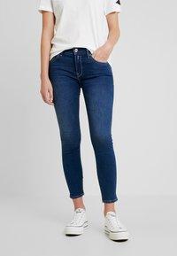 Replay - NEWLUZ ANKLEZIP - Jeans Skinny Fit - mediumblue - 0